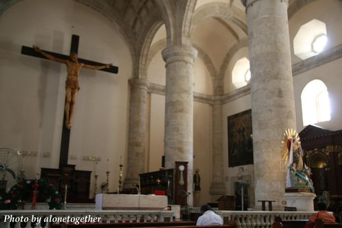 Inside Cathedral, Merida